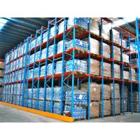 Commercial Metal Racking System , Heavy Duty Drive In Pallet Racking