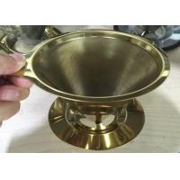 China Espresso Grind Stainless Steel Filter , Flavored Kone Pour Over Coffee Filter wholesale