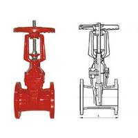 China Ductile cast iron RRHX rising stem resilient seated gate valve for fire protection API 598 wholesale