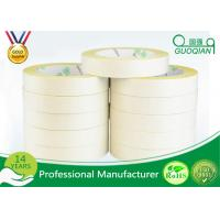China Yellow Tissue Cotton Paper Industrial Strength Double Sided Tape Roll wholesale