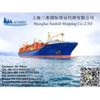 China Freight Forwarding Agent in Shanghai China for Sea Shipping and Rail Container Transportation on sale