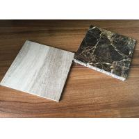 China Antique Real Stone Surface Aluminum Honeycomb Panels Strong AHP Core Opened wholesale
