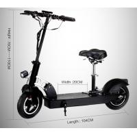 Stand up long range folding electric scooter with hub for Fold up scooters motorized
