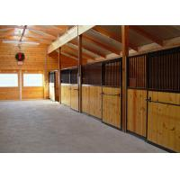 Buy cheap Standard Hot Dipped Galvanized Horse Boxes , Horse Stable Panels from wholesalers