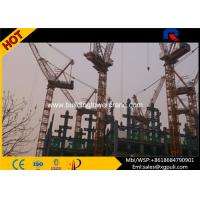 China Luffing Travelling Tower Crane , Luffing Boom Crane Freestanding Height 50M wholesale