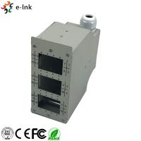 China 24 Ports Industrial DIN-Rail Fiber Patch Panel wholesale