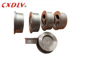 China 300LB Disco Lift Wafer Stainless Steel Check Valve Metal Seat wholesale