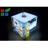 Quality 40 Watt LED Cube Light Box 3030 SMD LED Module Light With Ceiling Hanging Kits for sale