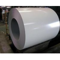 China Signal White PVDF Corrugated Aluminum Sheet With PVC Film 1060 3003 12m Length wholesale