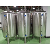 China Wheeled Cosmetic Fixed 500L Brewery Storage Tank wholesale