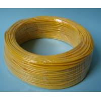 China Yellow Flexible PVC Tubing 600V / 300V Voltage Rating , PVC Flexible Hose For Wire Harness on sale