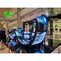 China indoor HD P4 SMD Soft  Led  Display,1/16 scans curved led display indoor led modules wholesale