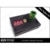 Ohm Tester V3 E Cig 0.1Ohm to 9.9 Ohm Reader V3 Black 2 AA Battery Ohm Meter