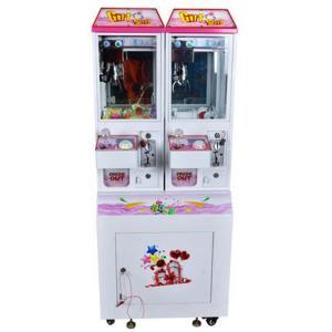 Mini Doll Claw Crane Machine Coin Operated Prize Game Machine Sunflower Amusement 2 Players Mini Gift Catcher Machine
