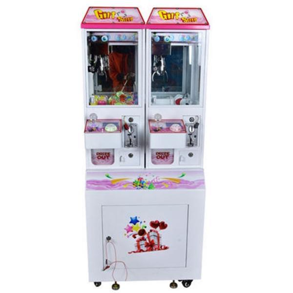 Quality Mini Doll Claw Crane Machine Coin Operated Prize Game Machine Sunflower Amusement 2 Players Mini Gift Catcher Machine for sale