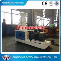 China Flat Die  Small Pine Sawdust Wood Pellet Making Machine for home use or test use wholesale