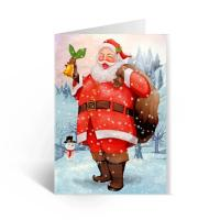 China Happy Birthday Lenticular Greeting Cards / Colored 3D Lenticular Card wholesale
