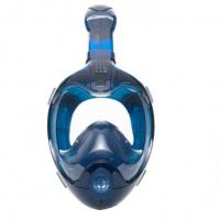 China GoPro Mount Head Snorkel Mask Water Drainage With PC Material Frame wholesale