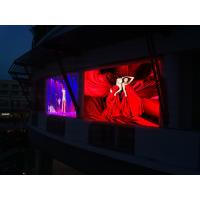 Full Color Led Display Outdoor Advertising , P9 Dip Led Screen 3ft × 3ft