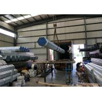 China PreGi hot Galvanised Steel Tube with thread / fire Round Steel Pipe with cap on sale