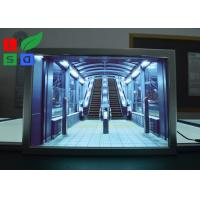 """China Portrait View LED Snap Frame Light Box 24""""x36"""" 24""""x48"""" Size For Advertising wholesale"""