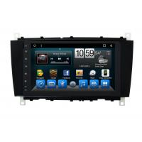 China Android Mercedes Benz C - Class Double Din Car Dvd Player GPS Navigation Head Unit wholesale