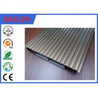 China Interlocking Anodized Waterproof Aluminum Decking Boards Materials 6000 series Grade wholesale