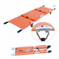 China PVC Emergency Stretcher Trolley Popular Scoop Style Collapsible Stretcher Ambulance wholesale