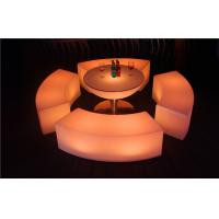 China Colored Garden LED Bar Furniture Glowing 120×43×43CM LED Pub Table For Rental wholesale