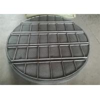 China Stainless Steel Mesh Sheet / Mist Eliminators Mesh Pads Alloy Material wholesale