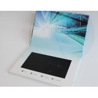 China Advertising lcd video mailer , lcd video business cards for fair display wholesale