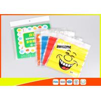 China Stand Up Biscuit Pe Plastic Reselable Pouches / Custom Food Grade Plastic Bags wholesale