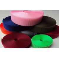 China Pink Soft Heavy Duty Hook And Loop Tape Heat Resistant , Green Pink wholesale