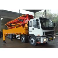 China Sany 48 Meter Concrete Pump Truck With Manual & Remote Control System wholesale