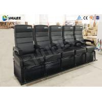 China Touching Heartbeat Entertainment 4D Cinema Theater With Electronic Seats wholesale