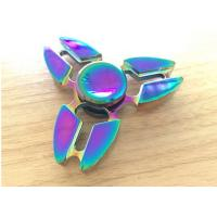 Wholesale Beautiful Alloy 3 Leaves Hand Spinner Fidget Toy Addictive Fidget Toys from china suppliers