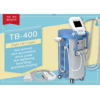 China Touch Screen IPL RF ND Yag Types Of Laser Hair Removal Tattoo Removal Machine wholesale