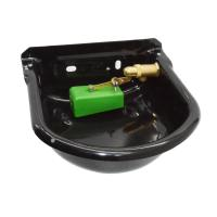 China Enameled Livestock Water Bowl Electroplating Cover Light Durable wholesale