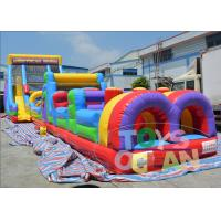 China Commericial Inflatable Games  Inflatable Obstacle Course With EN14960 wholesale