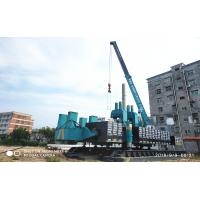 China ZYC360 Hydraulic Static Pile Driver , Pile Driving Equipment In Blue Color wholesale