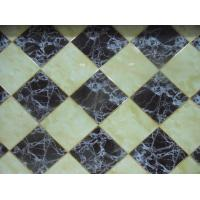 Anti UV Interlocking Decorative PVC Wall Panels Artificial Stone Marble
