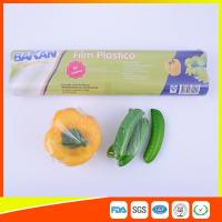 China Stretch PE Cling Film Plastic Food Wrap For Keeping Fresh With FDA Approval wholesale