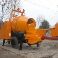 China Pully JBT40-P1 type of concrete mixer, self-loading concrete mixer, concrete mixer machine with lift wholesale