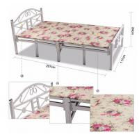 China Compact Folding Single Guest Bed , Queen Size Folding Guest Beds For Small Rooms wholesale