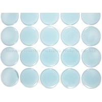 "China 1"" Blue Glow In The Dark Epoxy Adhesive Stickers wholesale"