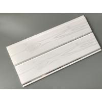 China Printing Surface Plastic Wall Liner Panels , White Wood Paneling For Walls wholesale