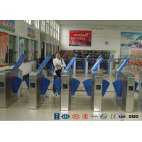 China Heavy Duty Industrial Speed Flap Barrier Turnstile For Handicap Channel wholesale
