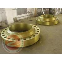 Stainless Steel Forged Steel Welded Flange Spindle , Rolled Ring Forging