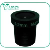 China Security Camera Focal Length 4.2mm Lens , CCTV Camera Lens For Home Security on sale