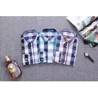 China Burberry long shirts men plaid shirts brand shirts designed clothing wholesale